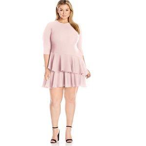 • Eliza J Tiered Ruffle Dress •